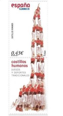 JUEGOS Y DEPORTES TRADICIONALES. Castillos humanos